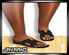 Herms Sandals Black