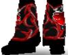 Black/Red Monster Boot