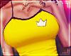 ♛ Sport Top Yellow