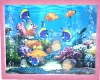 SG Pink Aquarium Wall