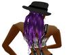 (ba) purple hair for hat