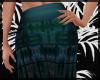 Teal Boho Skirt