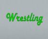 (M) Jello Wrestling sign