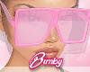 Oversized Sunglasses Pin