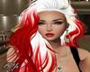 Brandi White Red