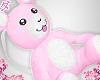d. bear bag pink