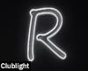 Letter R | Neon