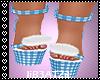 B! Blue Kawaii Shoes v2