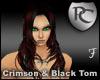 Crimson & Black Tomomi