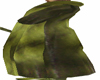 ~hpg~ Green Fur Coat M