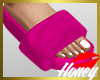 Fur Slides Pink