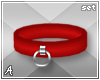 A| Misa Red Cuff Set (F)