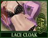 Lace Cloak Purple
