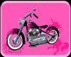 Pink Flame 54 Panhead