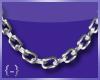{-} Chain Link | Slvr