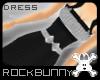 [rb] Black Check Dress