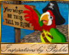 I~Pirate Ride Sign