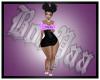 BB Black Purp Dress RLS