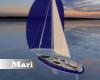 !M! Sailboat Animated