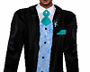 FULL TUX Teal/Black