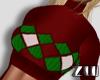 [zuv] santa top red