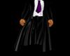 purple long suit top