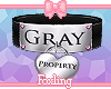 🎀Property of Gray