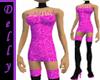 ~D~Dk pink short dress
