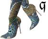 !!! oriental booties