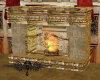 LE~CelticCourt Fireplace