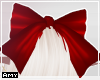 f Red bow