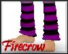 Emo Purple Socks