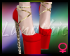 ! A Lux Diva Heels Red
