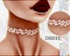 $ White:Henna:Choker