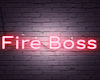 FireBoss custom sign