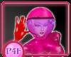 P4F Pink Astro Helmet