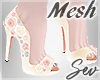 *S Spring Floral Shoes