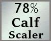 78% Calves Calf Scale MA