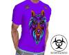 Purple Neon Wolf Shirt