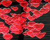 red hearts effects