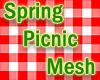 Spring Picnic Mesh