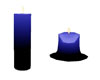 s~n~d melt blue candle