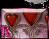 *R* Heart Border Sticker