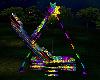 Neon Carnival Ship Ride