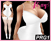 """Bimbo Dress White PRG1"