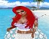 Ariel Mermaid Top Violet