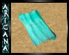{Ari} Teal Beach Towel