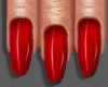 PO Red Nails + Rings