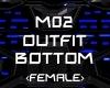 M02 Outfit Bottom Fem