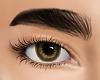 brown eyes.